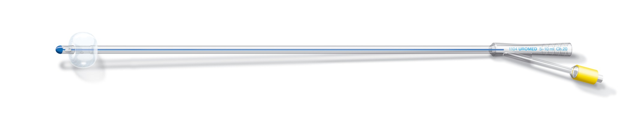 UROMED »SILUCENT« Silicone Balloon Catheter, short tip